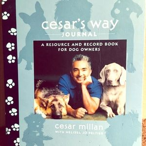 Cesar's Way Journal for Dog Owners!
